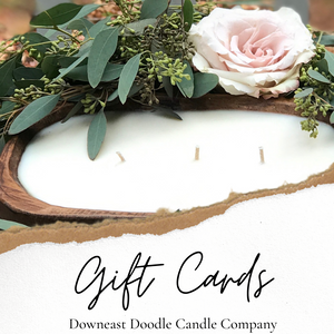 Downeast Doodle Candle Gift Cards