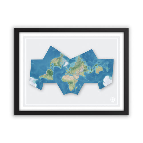 Bat Projection World Map