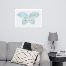 Load image into Gallery viewer, Butterfly Projection World Map