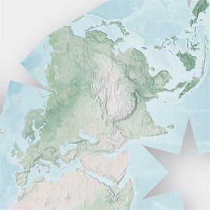 Butterfly Projection World Map