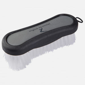 Maddox Leather Handle Face Brush
