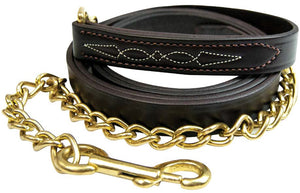 Walsh Fancy Stitched Leather Lead