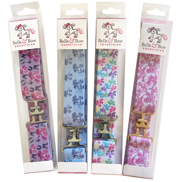 Belle and Bow Kids Belts