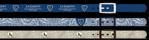 La Jument Signature Belts by C4 with Gunmetal Buckles