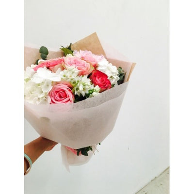 Lovely Pastel Flowers created by Flowerlane and Co