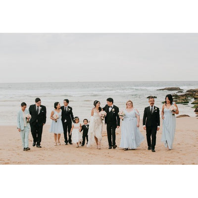 Chiet & Gavin beachside wedding
