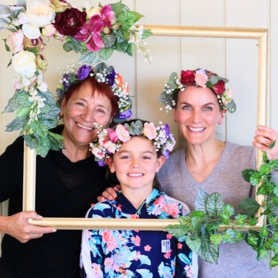 Spring festival Flower crown workshop