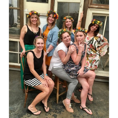 A day of fun Bridal Party Workshops