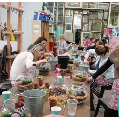July Terrarium workshop