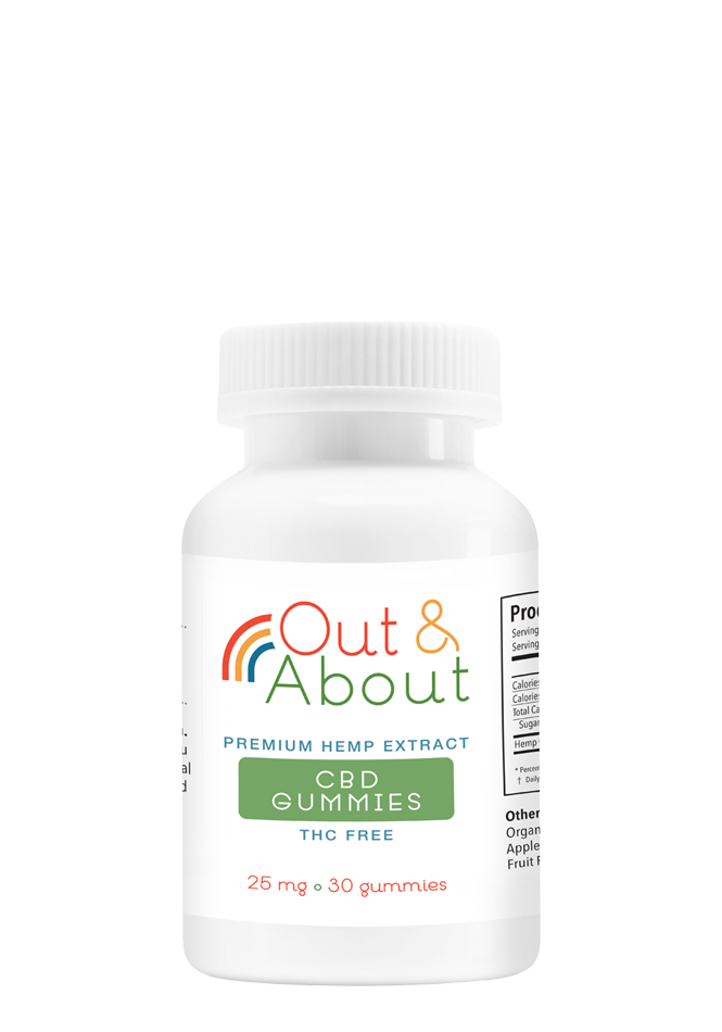 CBD Gummies – 25mg, 30 count
