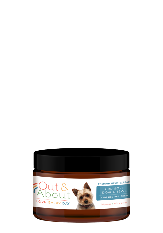 CBD Soft Chews for Small Dogs – 2mg, 30 count