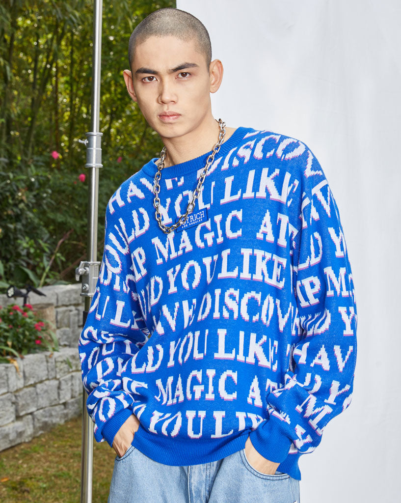 Joyrich 'Like Magic' Sweater</Br>Blue</Br>