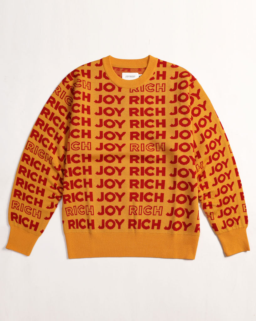 McJoy Crew Sweat</Br>Yellow</Br>