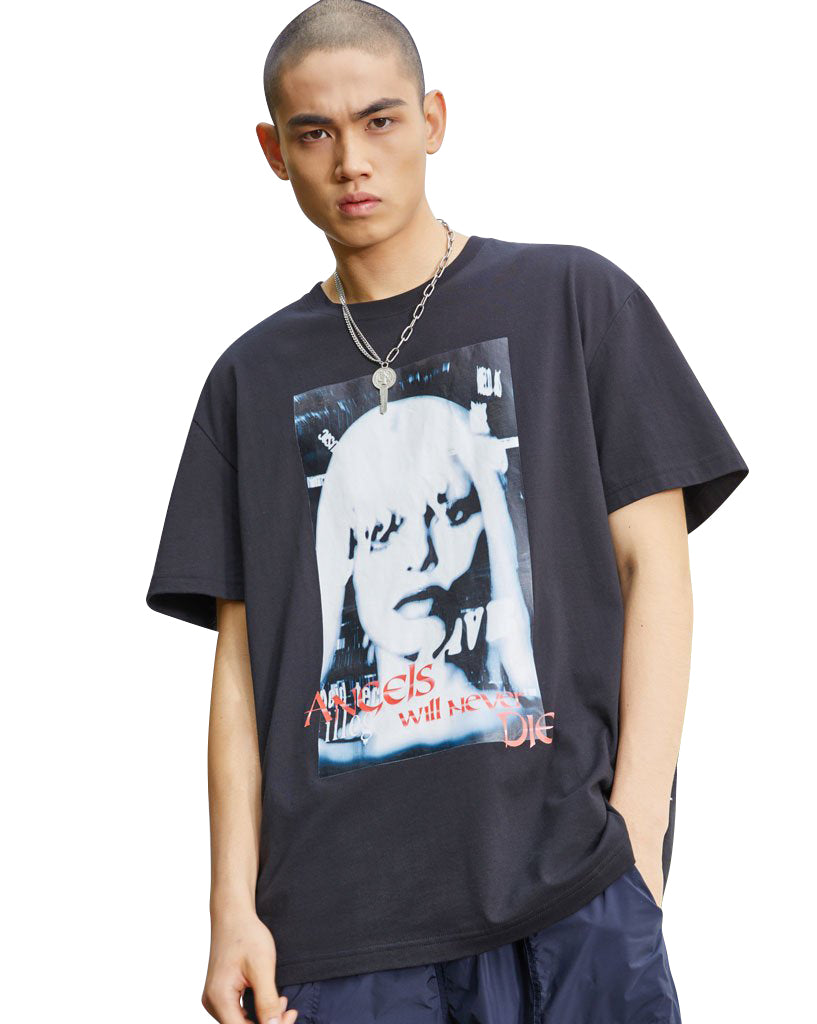 Joyrich Angels Tee</Br>Black</Br>