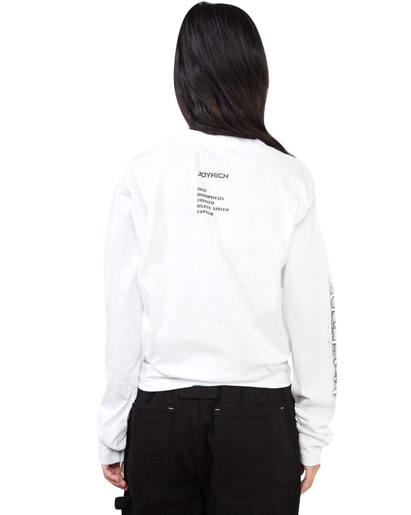 Matrix Long Sleeve Tee</Br>White</Br>