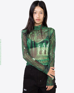 Matrix Mesh Top</Br>Green</Br>