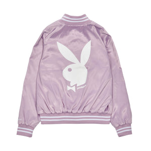 Playboy x Joyrich Bomber Jacket</Br>Light Purple</Br>