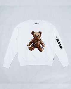 Joyrich The Bronx Teddy Sweat</Br>White</Br>