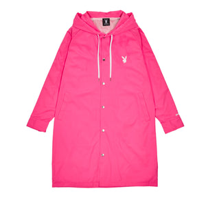 Playboy x Joyrich Hooded Coat</Br>Pink</Br>
