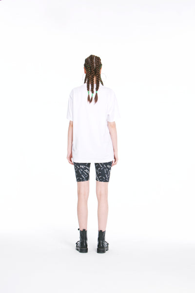 Joyrich Bling Teddy Tee</Br>White</Br>