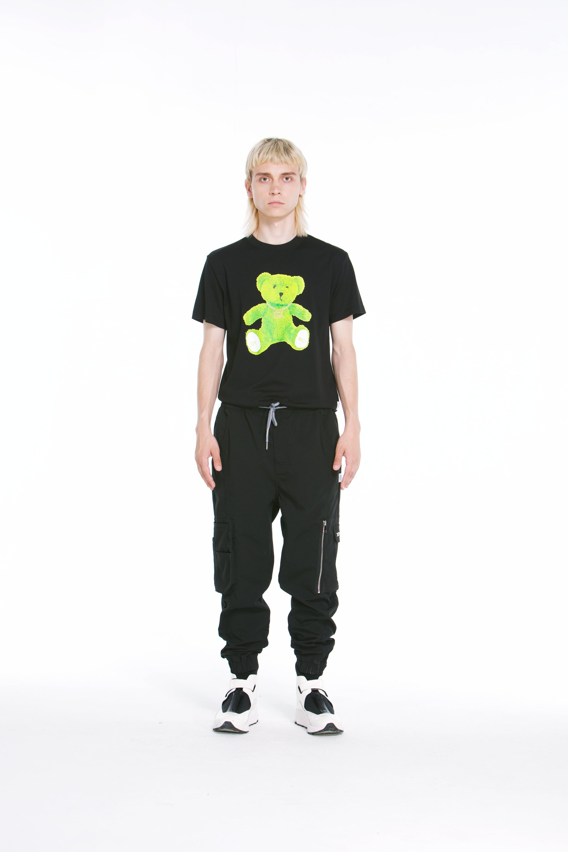 Joyrich Bling Teddy Tee</Br>Black</Br>