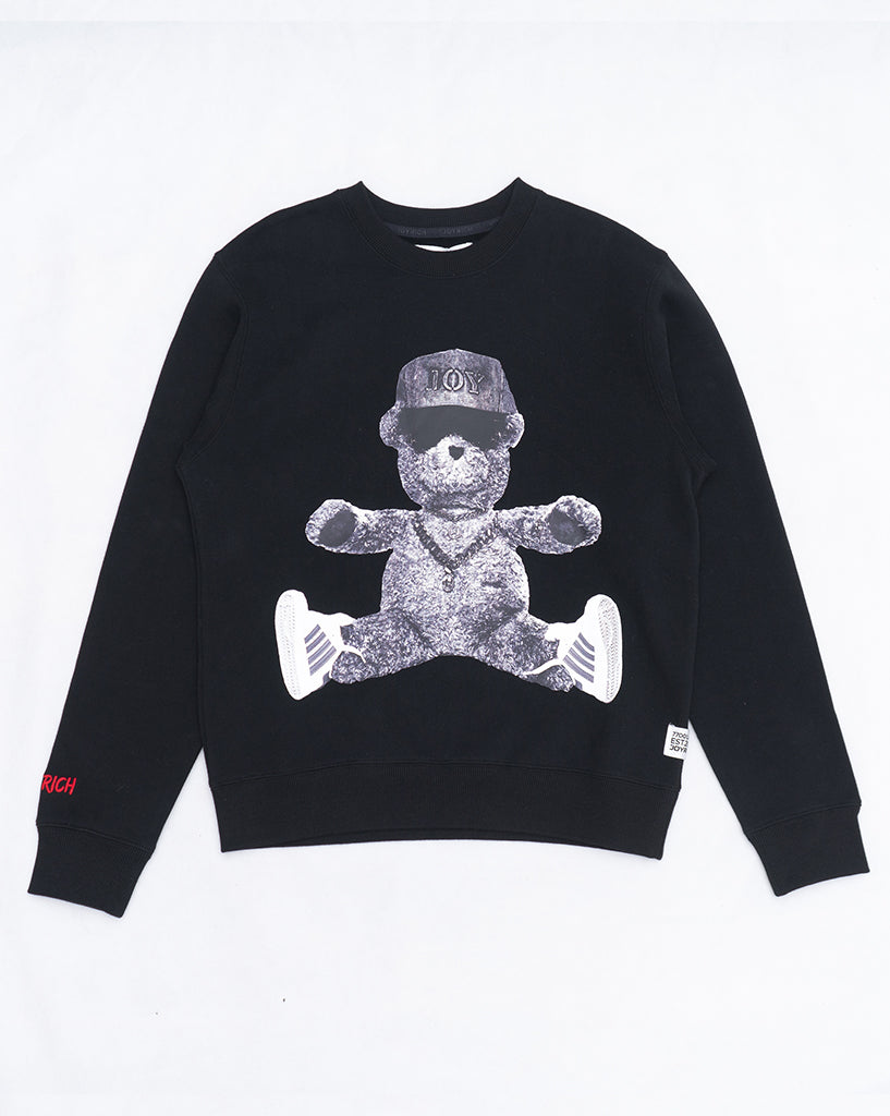 Joyrich Fresh Teddy Sweater</Br>Black</Br>