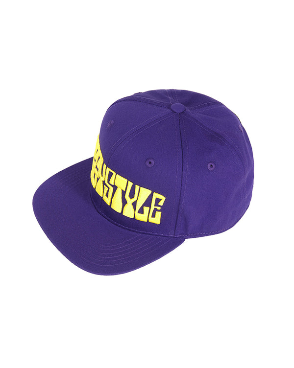 Snoop Dogg x Joyrich Snap Back Hat</Br>Purple</Br>
