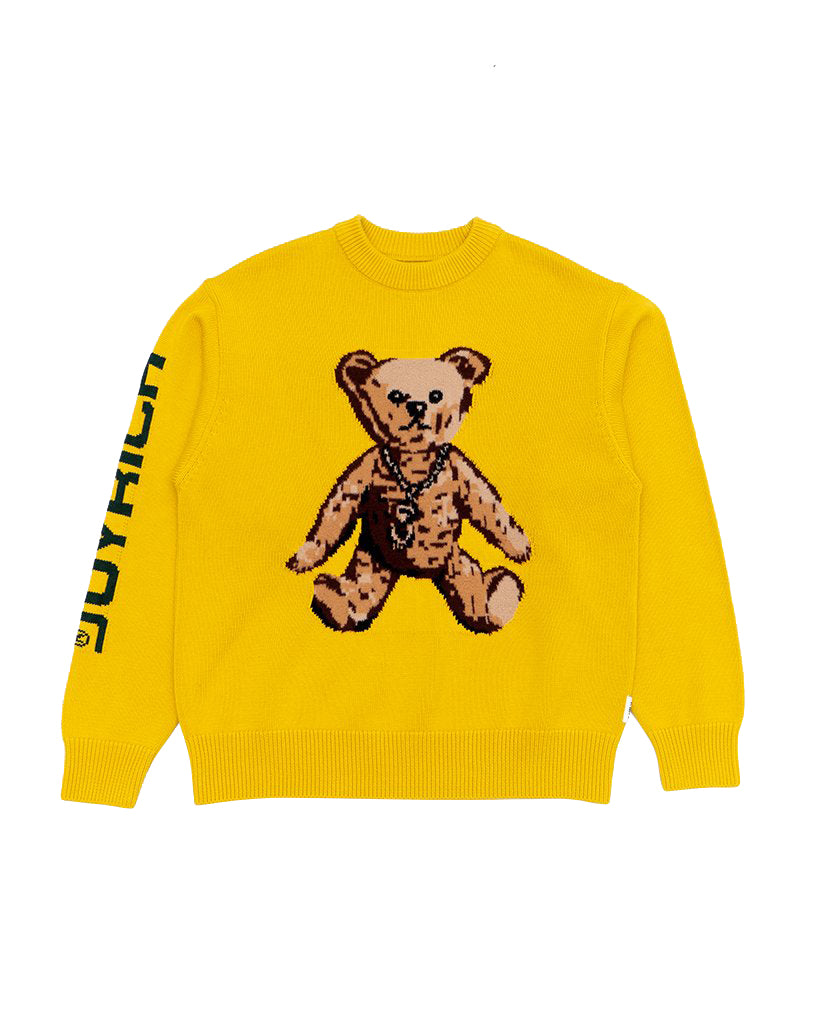 Joyrich The Big Teddy Knit Sweater</Br>Yellow</Br>