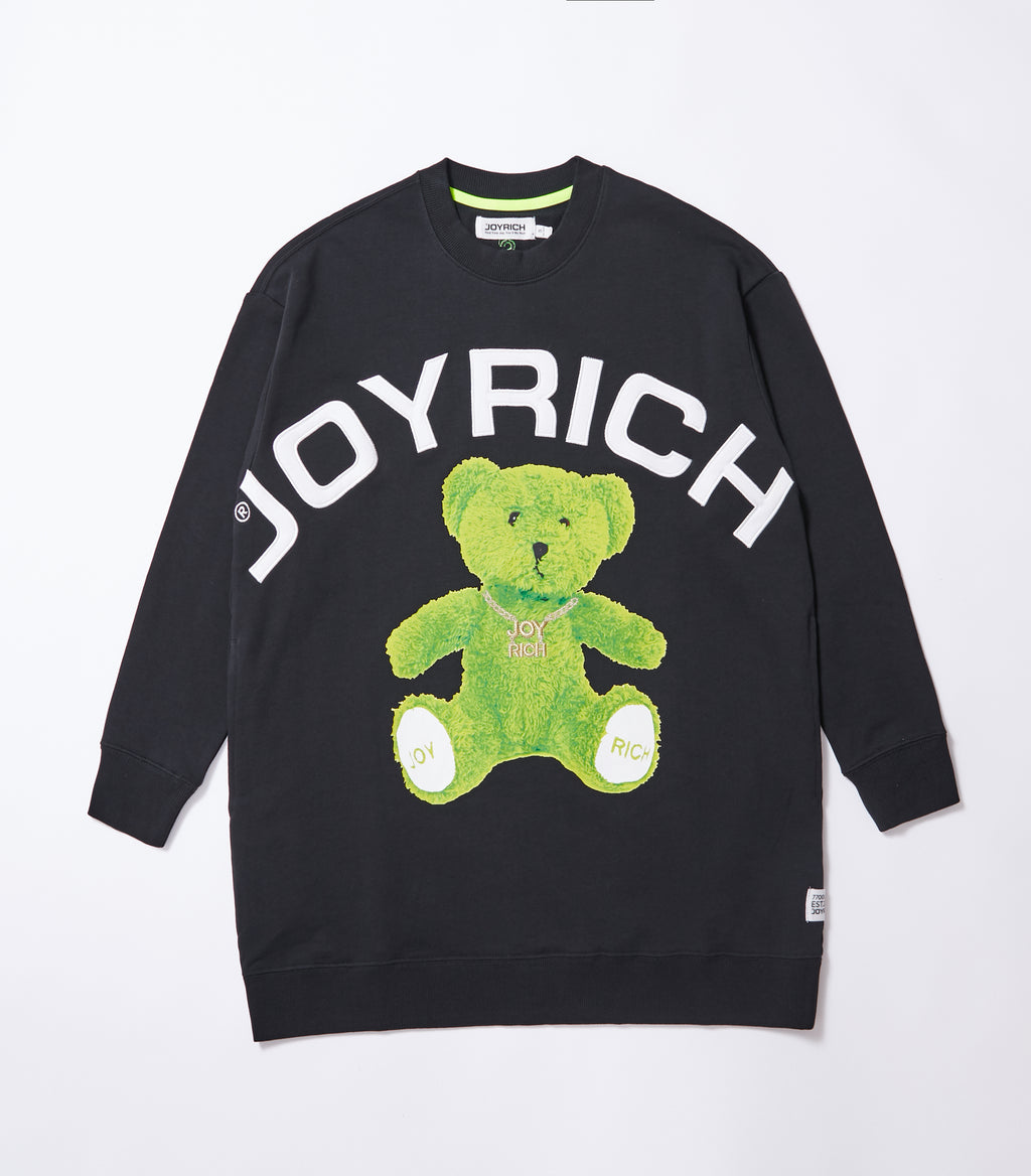 Joyrich Banger Teddy OS Sweat</Br>Black</Br>