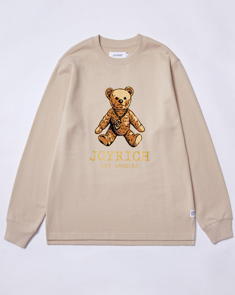 Joyrich L.A Teddy Sweater</Br>Beige</Br>