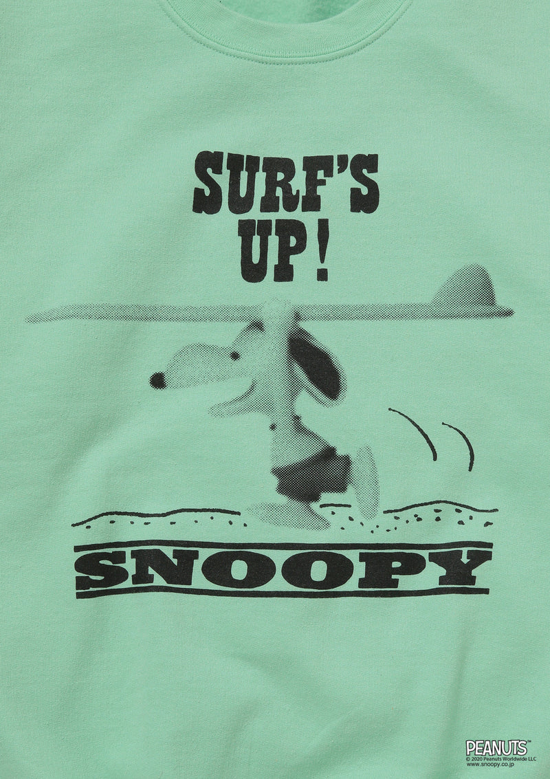 3D SURF'S UP SNOOPY HOMAGE C/N SWEAT