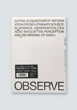 TOKION ISSUE 1 OBSERVE