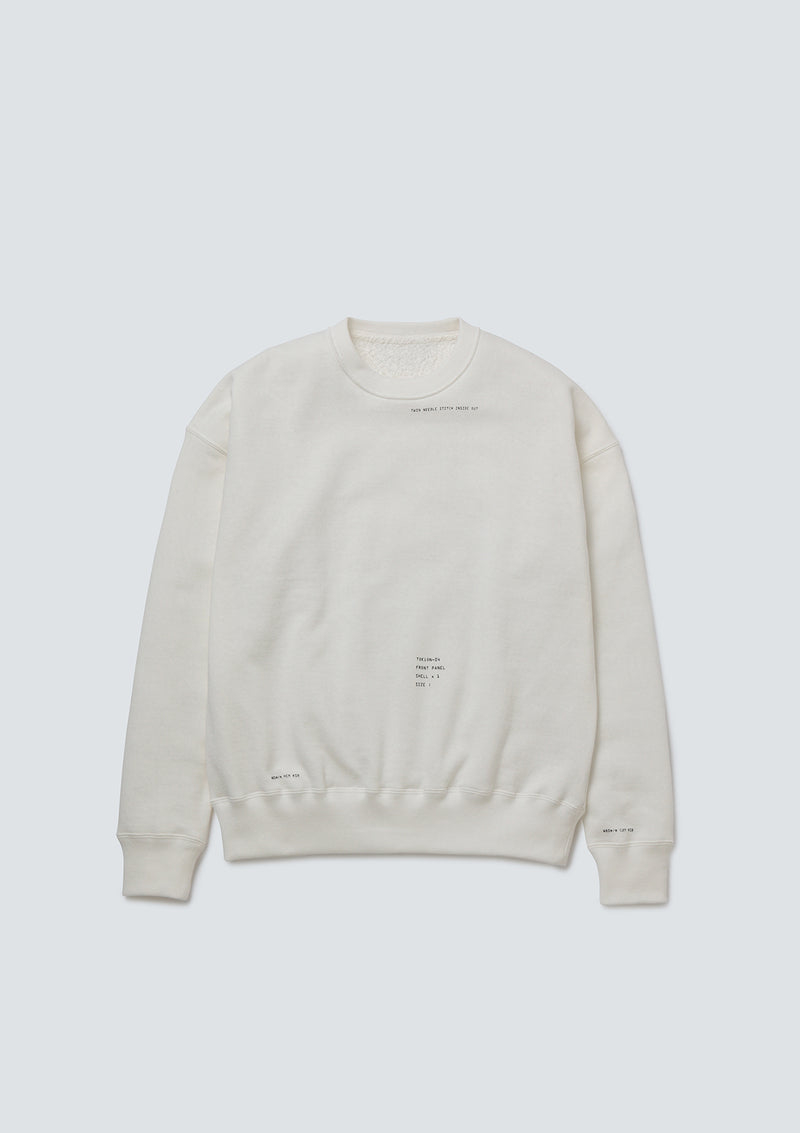 TOKION OBSERVE CREWNECK SWEAT