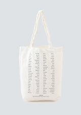 Hello Stranger CANVAS TOTE M