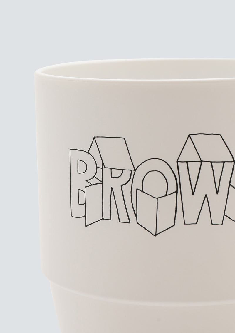 GEOFF McFETRIDGE BROWSE NOODLE MUG