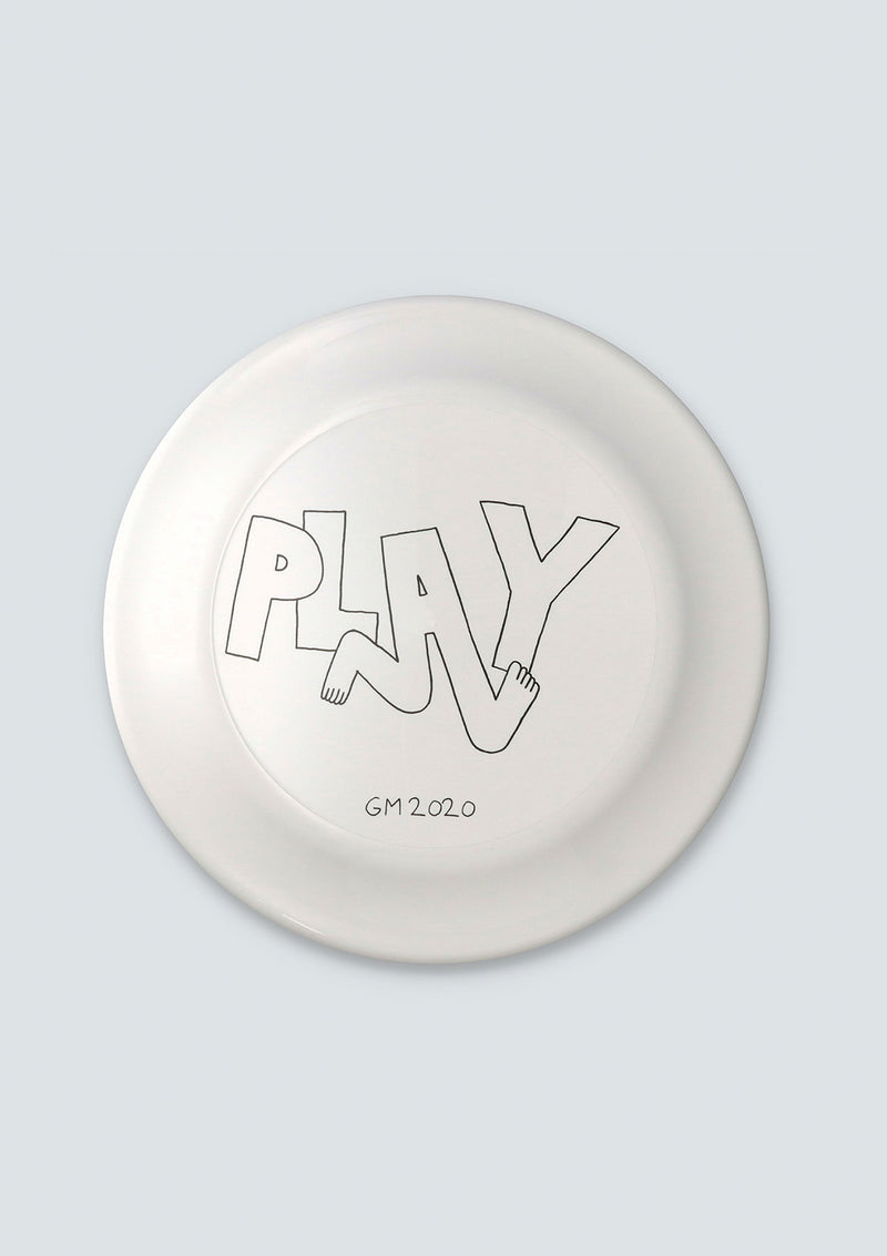 GEOFF McFETRIDGE PLAY FLYING DISC