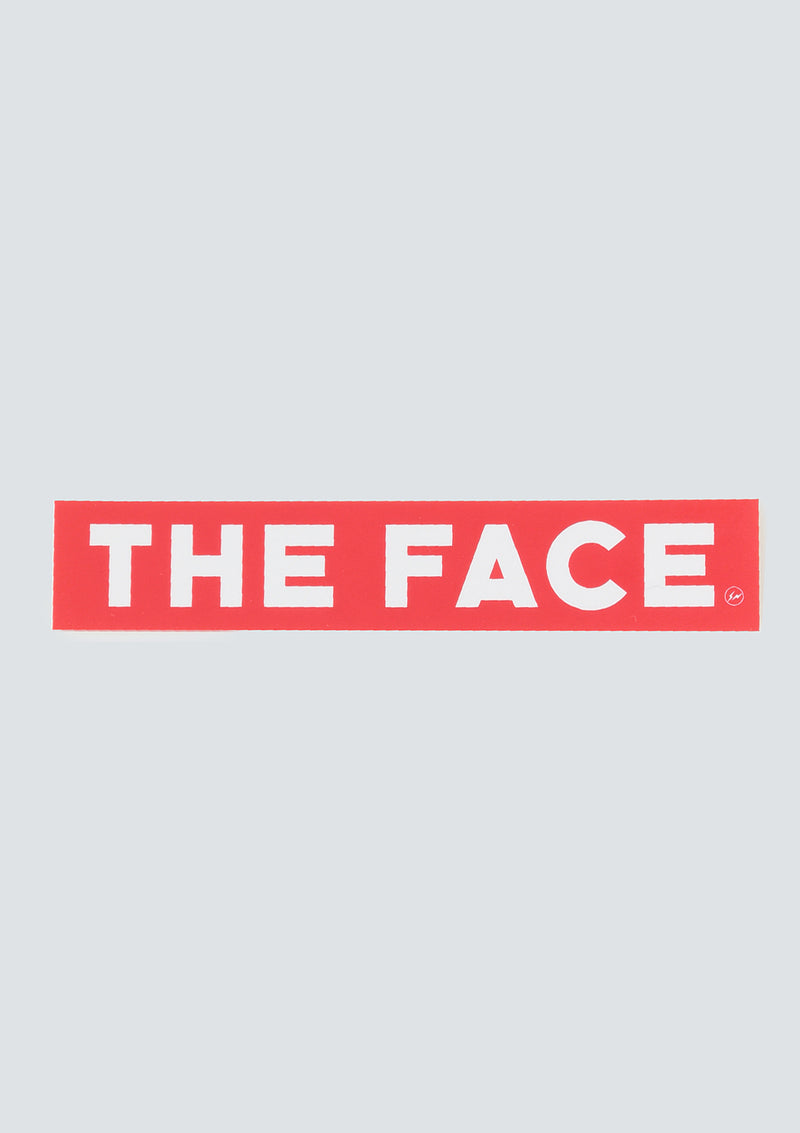 fragment design × THE FACE | THE FACE FRGMT STICKER