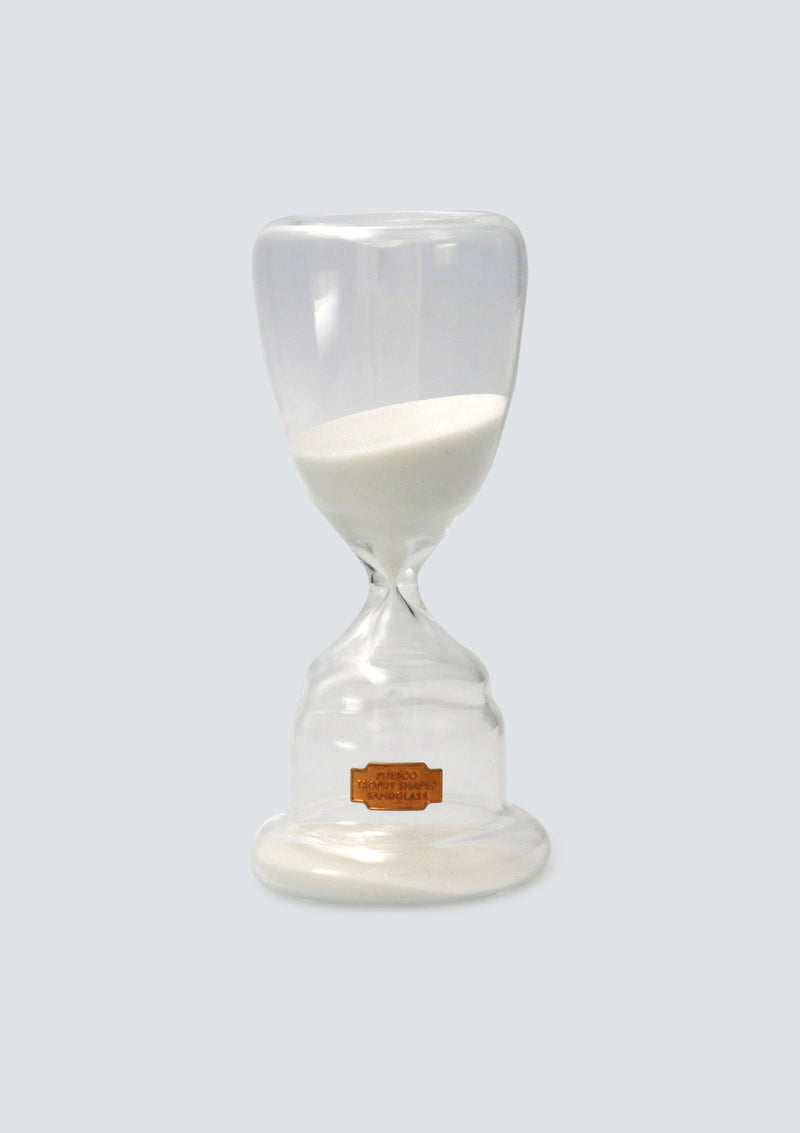 PUEBCO TROPHY SHAPED SANDGLASS White No.1