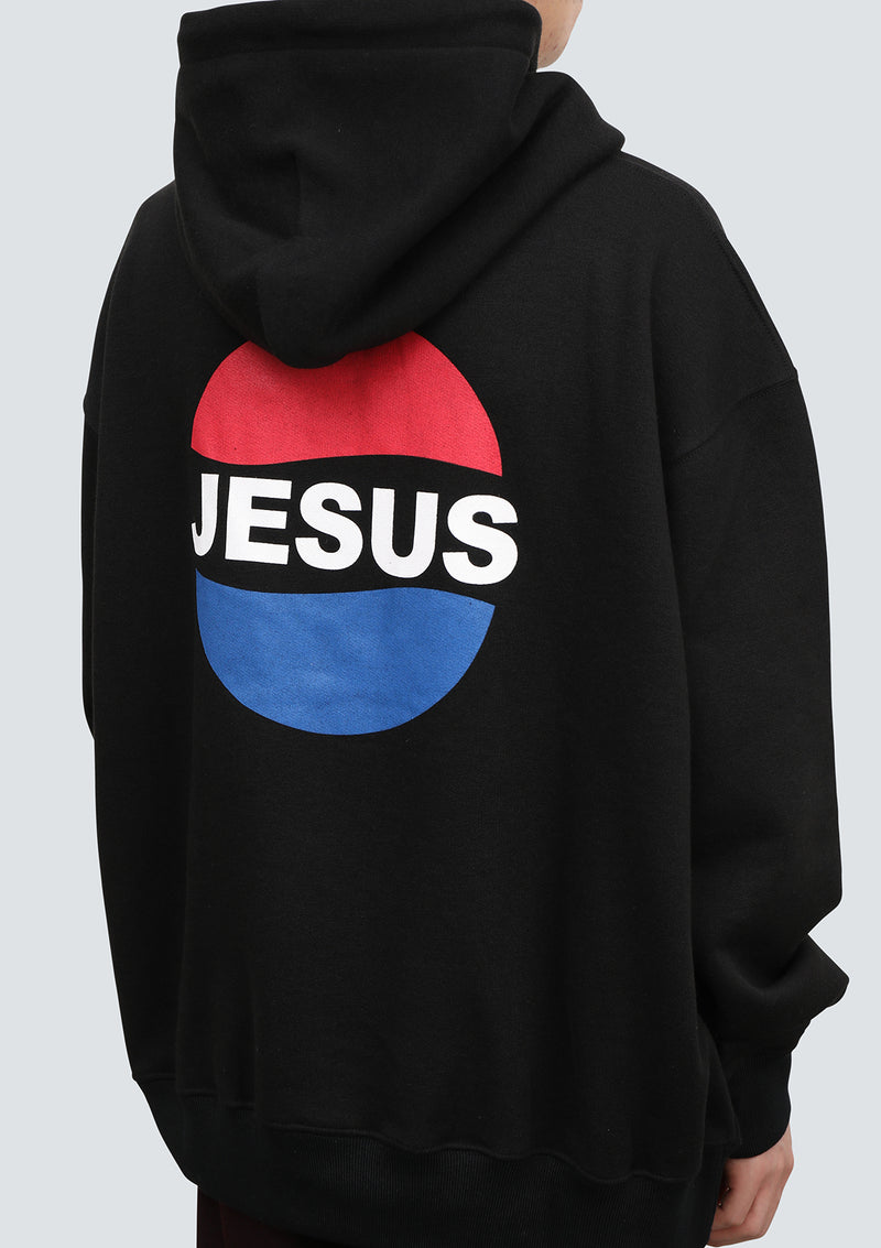 The Salvages | JESUS LOGO Oversized HOODIE