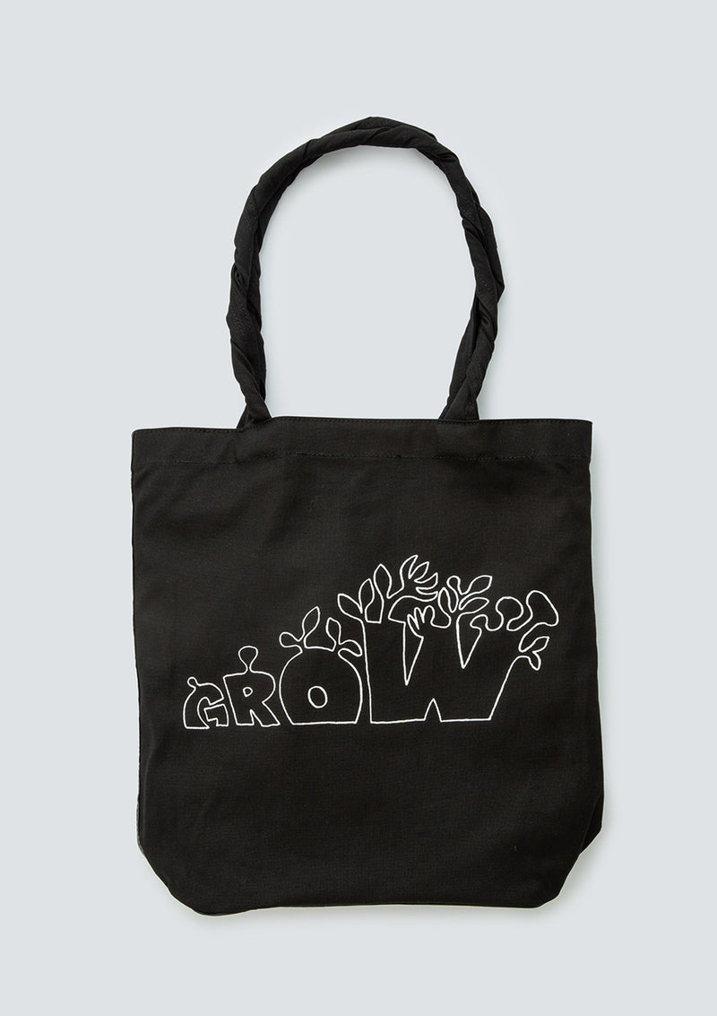 GEOFF McFETRIDGE GROW CANVAS TOTE