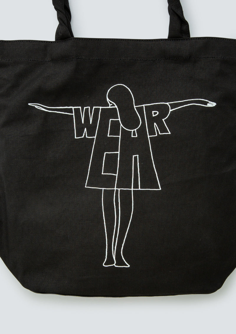 GEOFF McFETRIDGE WEAR CANVAS TOTE