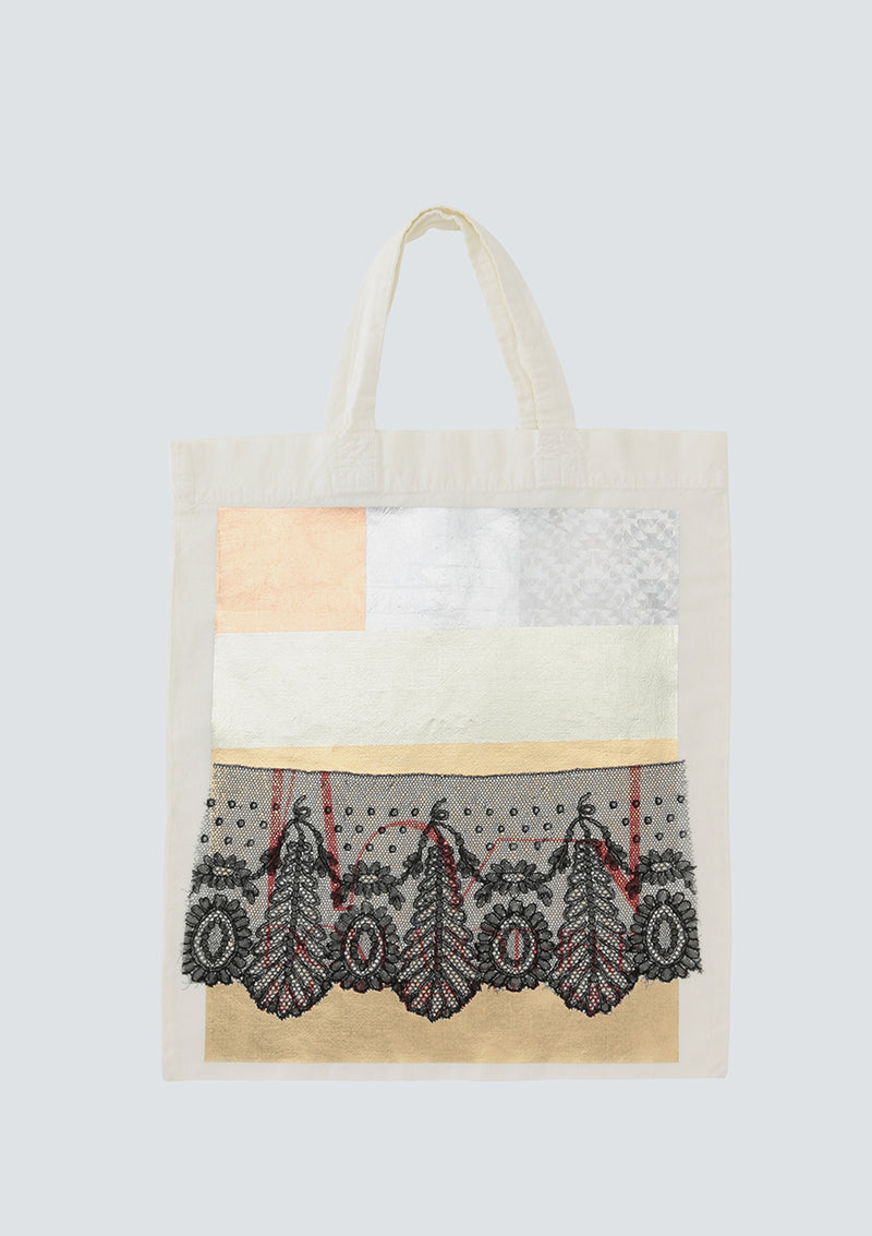 Conceal print Tote bag + Lace Type 1