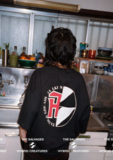 The Salvages | Reconstructed Eraserheads Logo Oversized T-Shirt