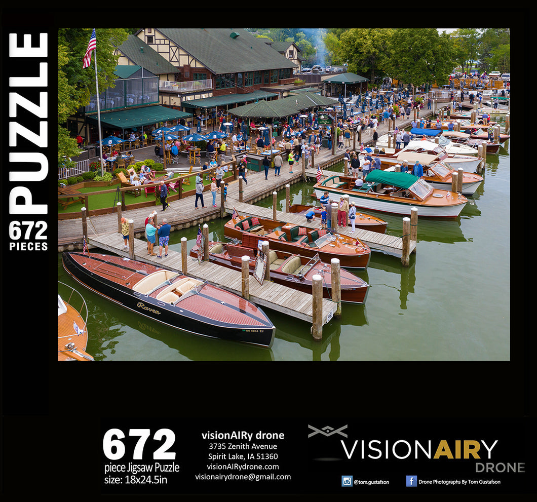 Wooden Boat Show at Fletcher's Jigsaw Puzzle