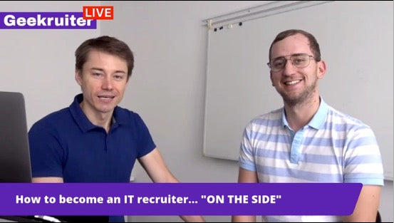 [Live] IT Recruitment Show With Matus Kopalko