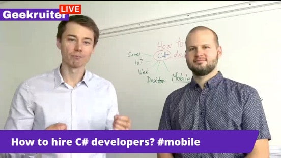 [Live] How To Recruit & Hire C# Developers With Vlad