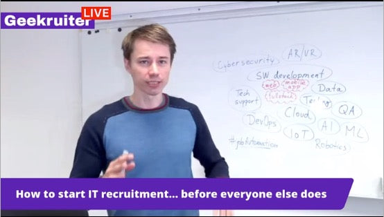 [Live] How To Start IT Recruitment