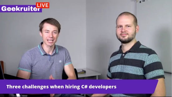 [Live] Interview With Vlad on C# Devs Recruitment