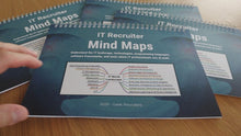 Load and play video in Gallery viewer, IT Recruiter Mind Maps | Set Of Four Printed Booklets