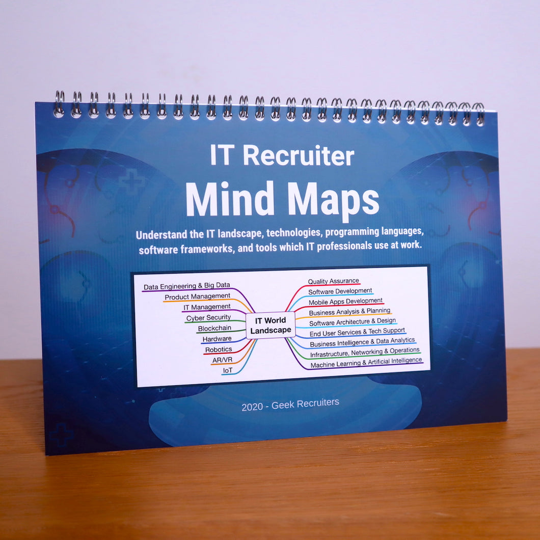 IT Recruiter Mind Maps | Paperback, Shipped
